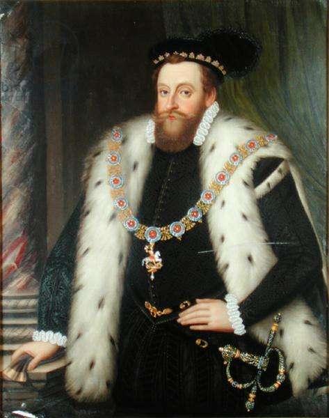 Sir Henry Sidney (1529-86) (enamel on copper)