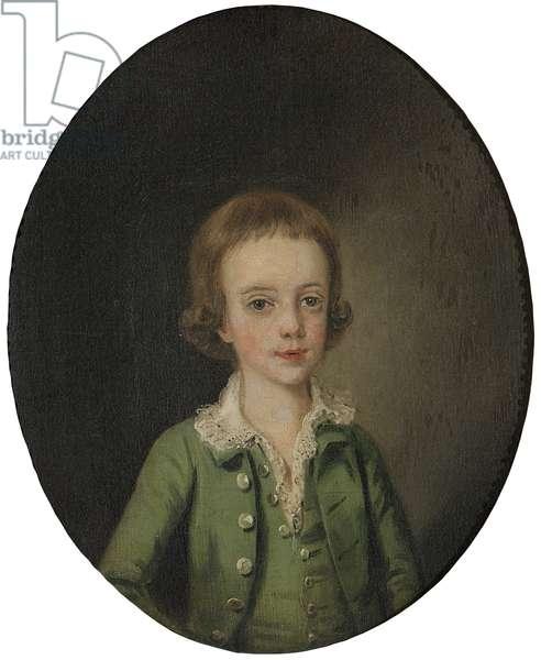 Miles Stapleton as a Boy