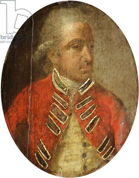 An Military Officer in Red
