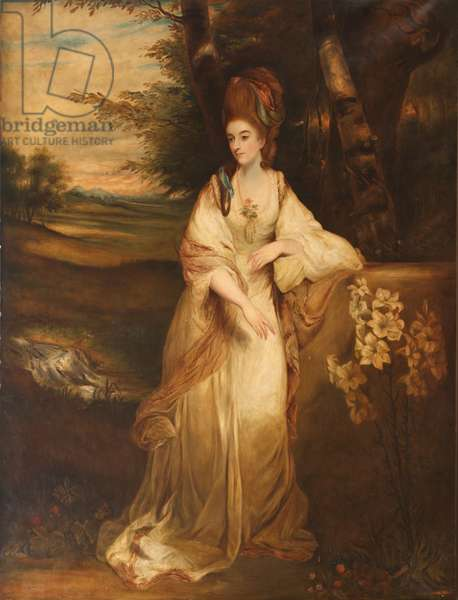 Violet Marcia Catherine Warwick Bampfylde, Countess of Onslow, 1910 (oil on canvas)