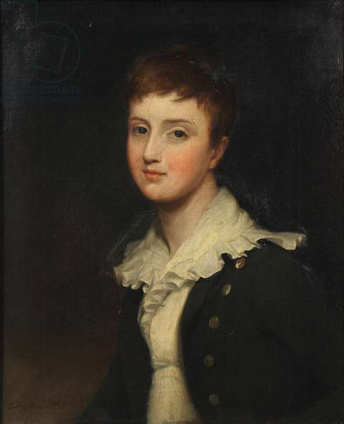 Lord Richard Cavendish (1812–1873), as a boy