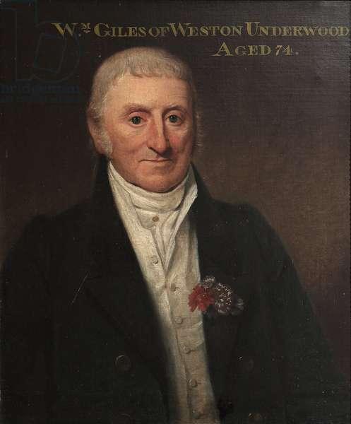 William Giles of Weston Underwood, aged 74