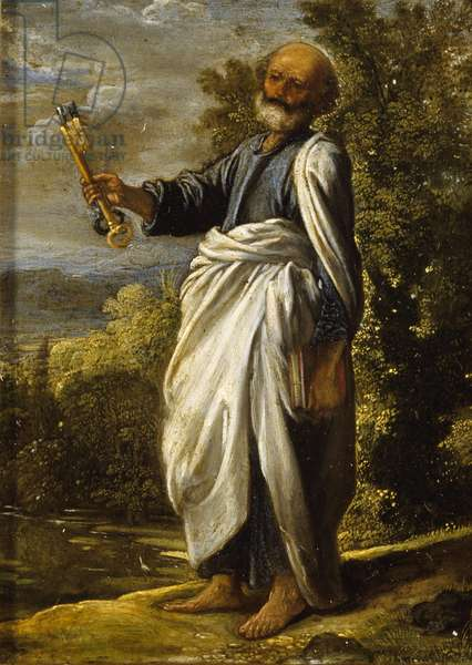 St. Peter, c.1605 (oil on panel)