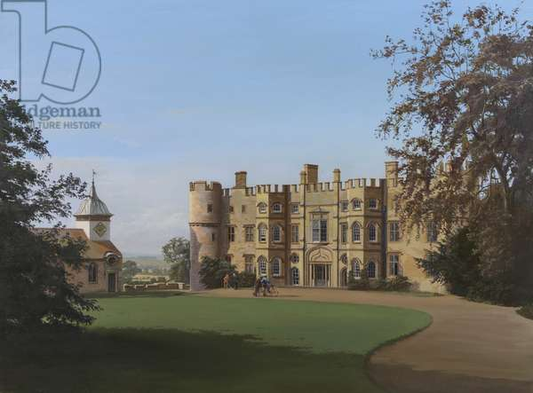 Croft Castle (oil on panel)