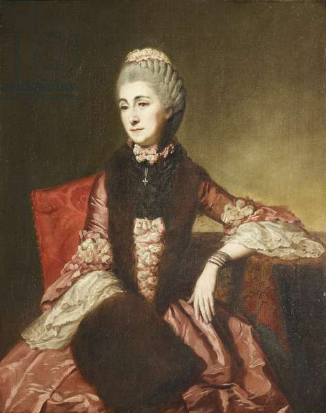 Mary Lepel, Lady Hervey (1700 -1768)  in Old Age