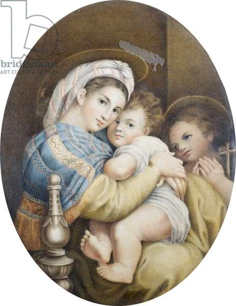 Madonna della sedia (after Raphael)