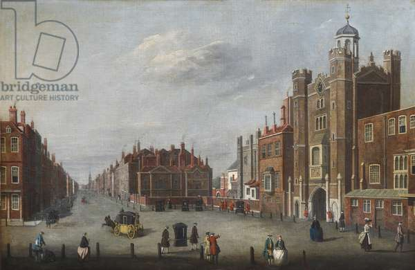 St James's Palace with a View of Pall Mall