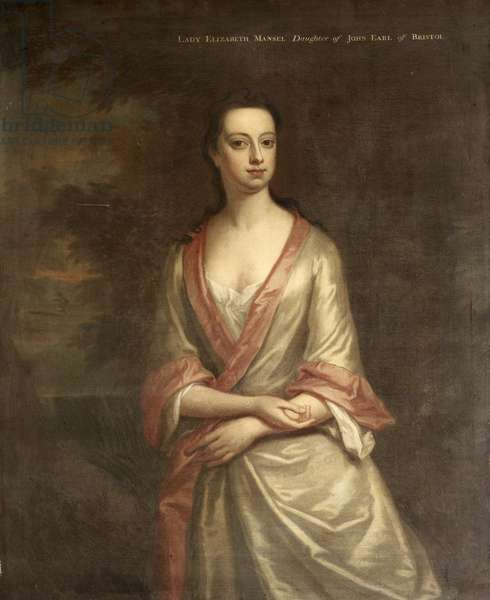 Lady Elizabeth Hervey, Lady Mansel (1697-1727) (after Jonathan Richardson the younger)
