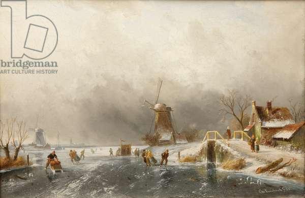 Dutch Winter Scene