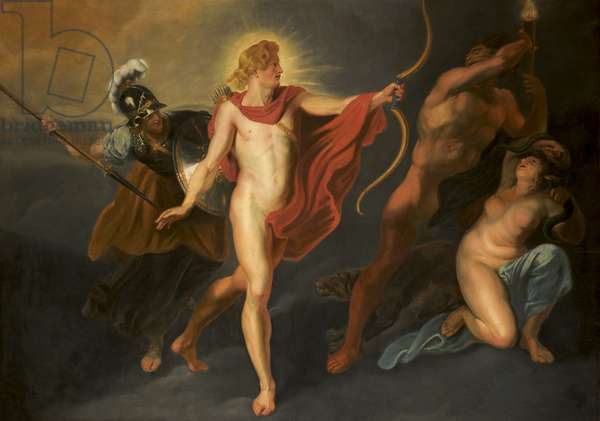 Apollo expelling the Forces of Darkness