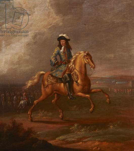 King William III on his favourite horse, Sorrel (oil on canvas)