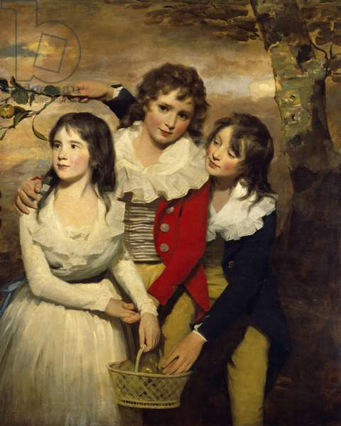 The Paterson Children, c.1790 (oil on canvas)