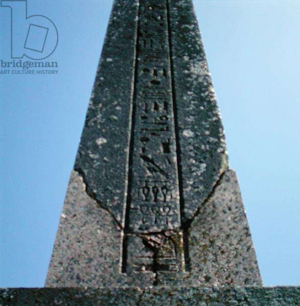 Ancient Egyptian obelisk on the south lawn (stone)