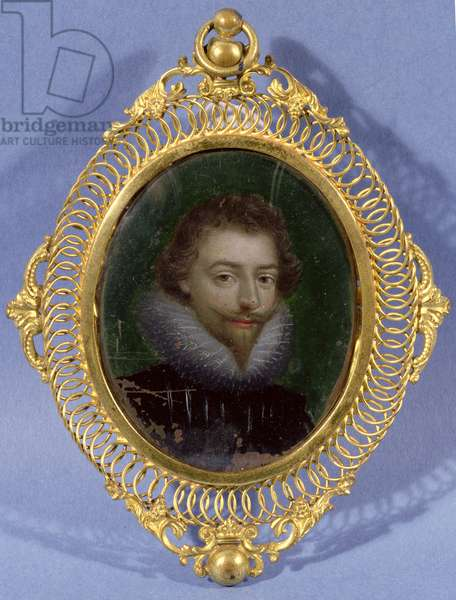 Miniature of James Hepburn, Earl of Bothwell (c.1537-78)