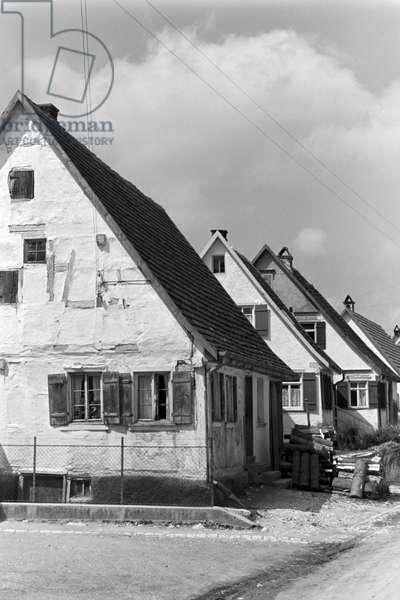 A trip to Winterlingen, Germany 1930s (b/w photo)