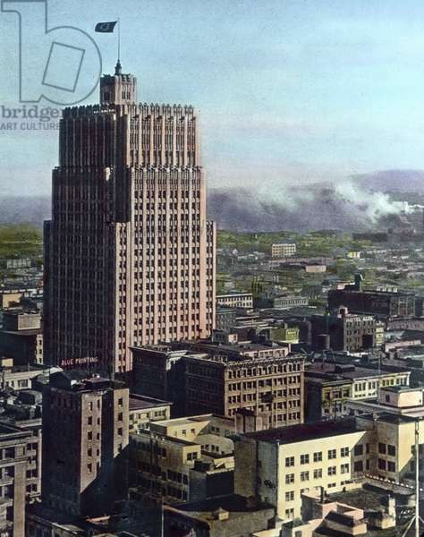 United States of America, California, Headquarter of General Post Office in San Francisco, image date: circa 1920. Carl Simon Archive