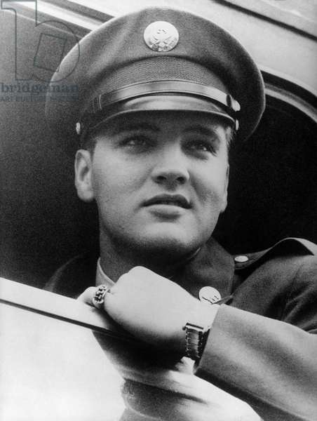 ELVIS PRESLEY as soldier (1958)