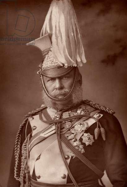 George William Frederick Charles, 2nd Duke of Cambridge (1819-1904). (woodburytype)