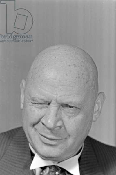 German actor Ludwig Schmitz, Germany 1930s (b/w photo)