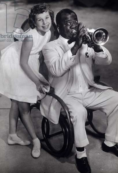 GABRIELLE and LOUIS ARMSTRONG, Uncle Satchmo's Lullaby, La Paloma (1959)