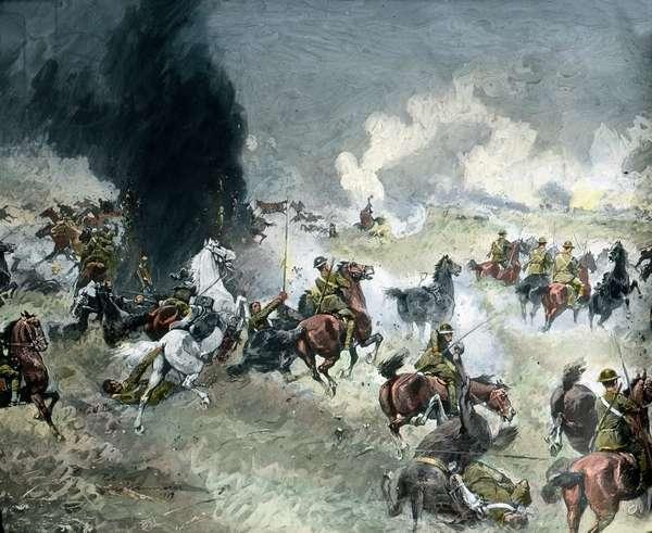 Topic commemoration: British cavalry fails at Mesen, Belgium