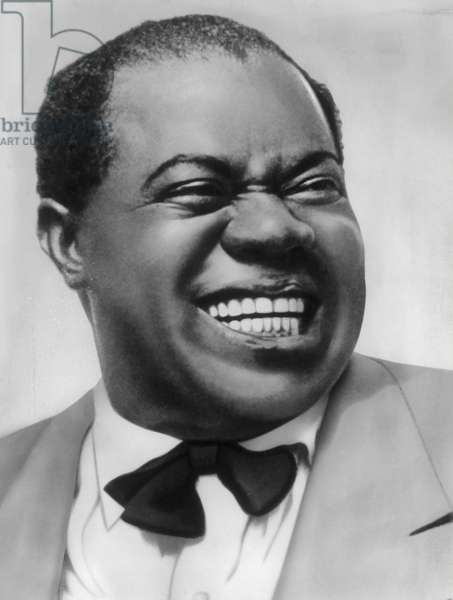 Louis Armstrong (Born on 4. August 1901 - Died on 6 July 1971) was the most famous jazz trumpeter of the 20th century. 1959.