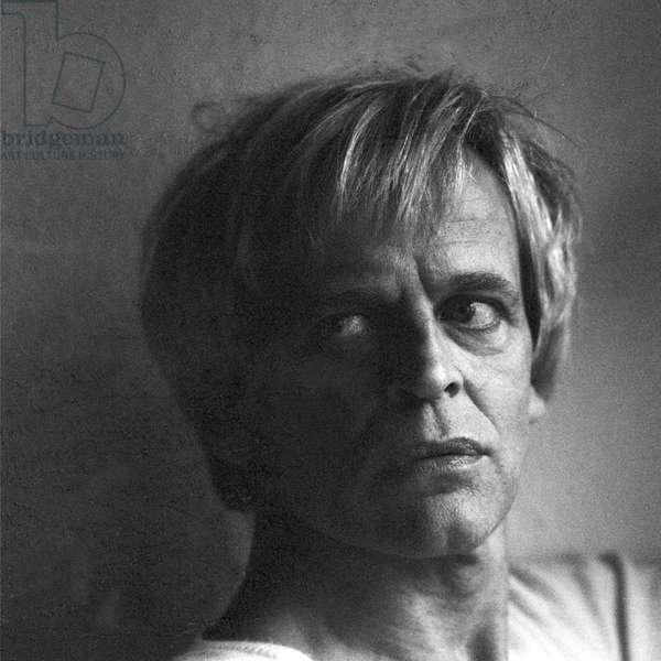 German actor Klaus Kinski, March 1975