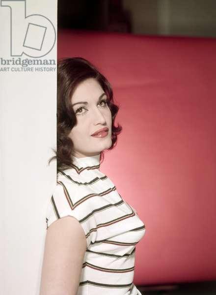 Portrait de DALIDA, annees 1960.