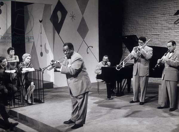 LOUIS ARMSTRONG with Band (1960s)