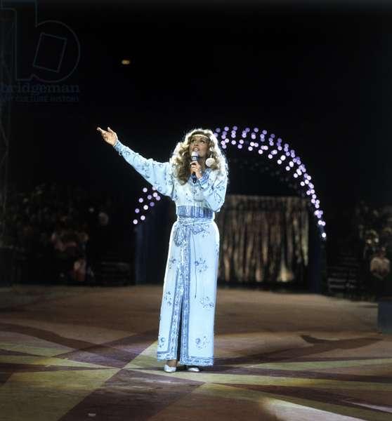 DALIDA (German TV-Performance 'Arena der Sensationen', annees 1980