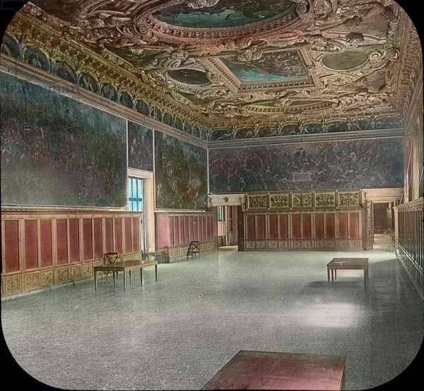The Great Council Room, Doge's Palace, Venice