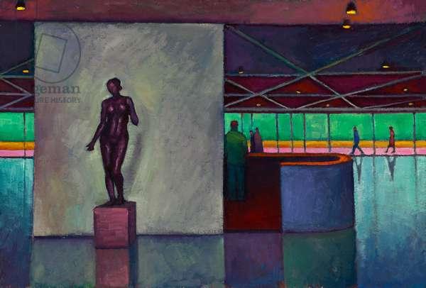 Maillol, National Gallery, Washington (oil on board)