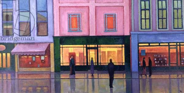 High Street, 2003 (oil on board)