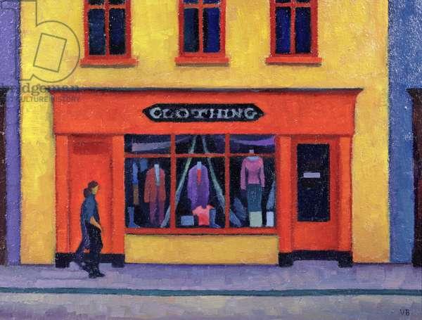 Irish Shop, Bandon, 2002 (oil on board)
