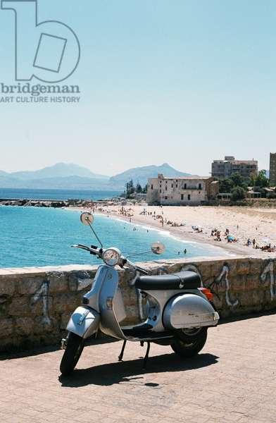 Arenella Beach, Palermo, Sicily, Italy, July 2018 (photo)