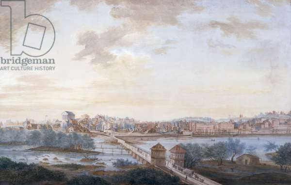 View of Richmond, 1822 (w/c on paper)