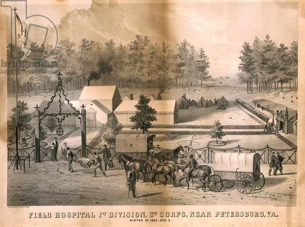 Medical Encampment (lithograph)