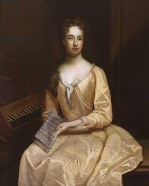 Portrait of Martha or Teresa Blount (oil on canvas)