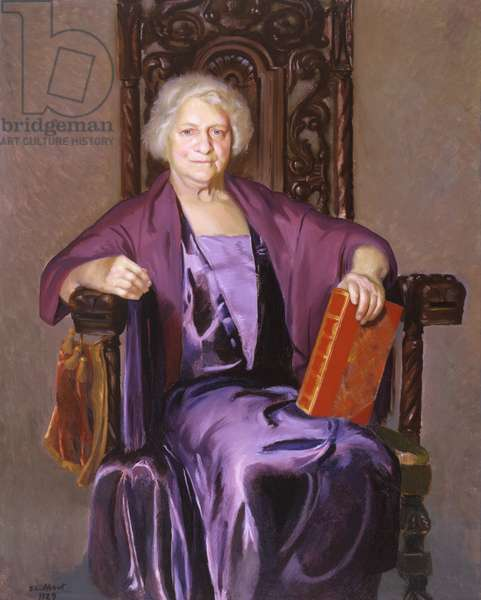 Elizabeth Lewis, 1927 (oil on canvas)