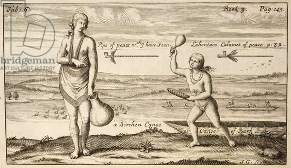 A Boy Running After A Woman, 1705 (engraving)