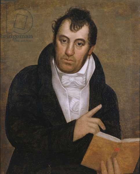 Portrait of Robert Barraud Taylor (oil on canvas)
