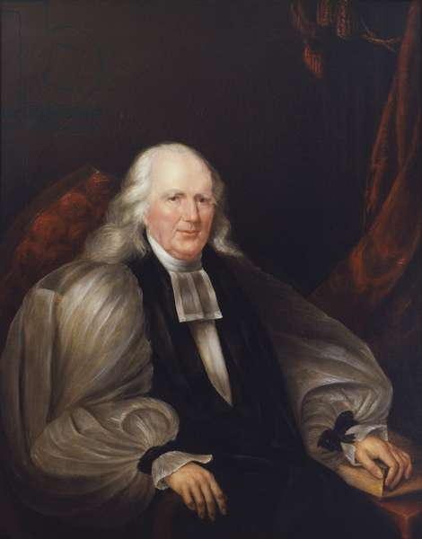 Portrait of Bishop Richard Channing Moore (oil on canvas)