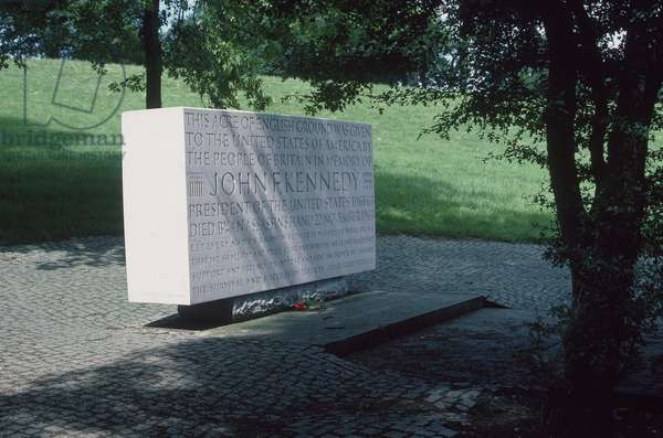 John F. Kennedy Memorial, 1965 (portland stone)
