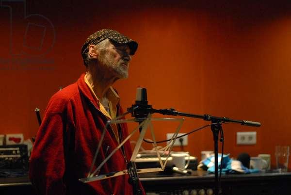 Michael Horovitz, Damon Albarn Studio, 2013 (photo)