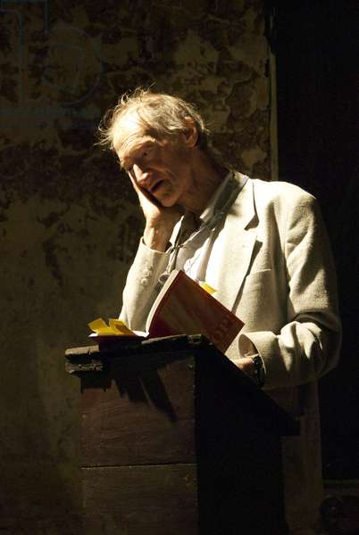 Michael Horovitz, Museum of Immigration, London, September 11th, 2009 (photo)