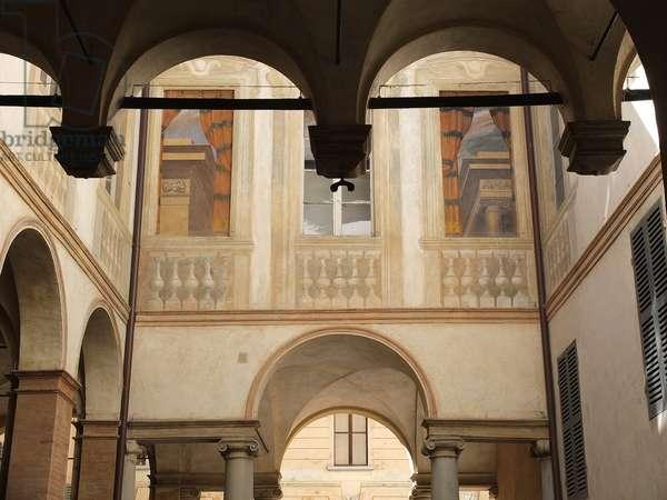 18th century palace, Reggio Emilia, Emilia-Romagna, Italy (photo)