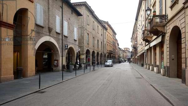 The Via Emilia San Pietro, Reggio Emilia, Emilia-Romagna, Italy (photo)