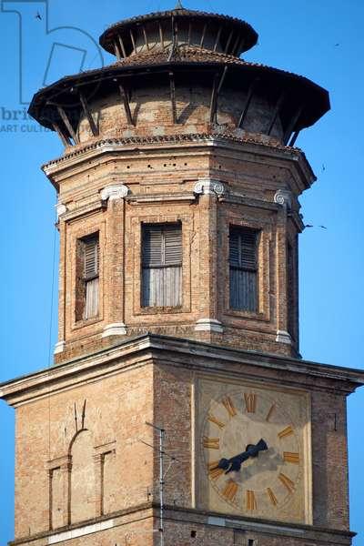 Bell tower of the Madonna della Ghiara, Reggio Emilia, Emilia-Romagna, Italy (photo)