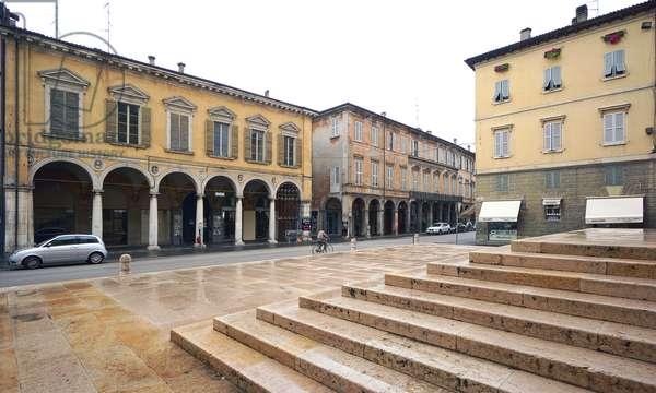 Palazzo Ruini and Via Emilia San Pietro, Reggio Emilia, Emilia-Romagna, Italy (photo)