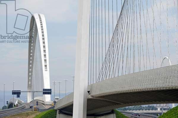 Bridges of Calatrava, Reggio Emilia, Emilia-Romagna, Italy (photo)